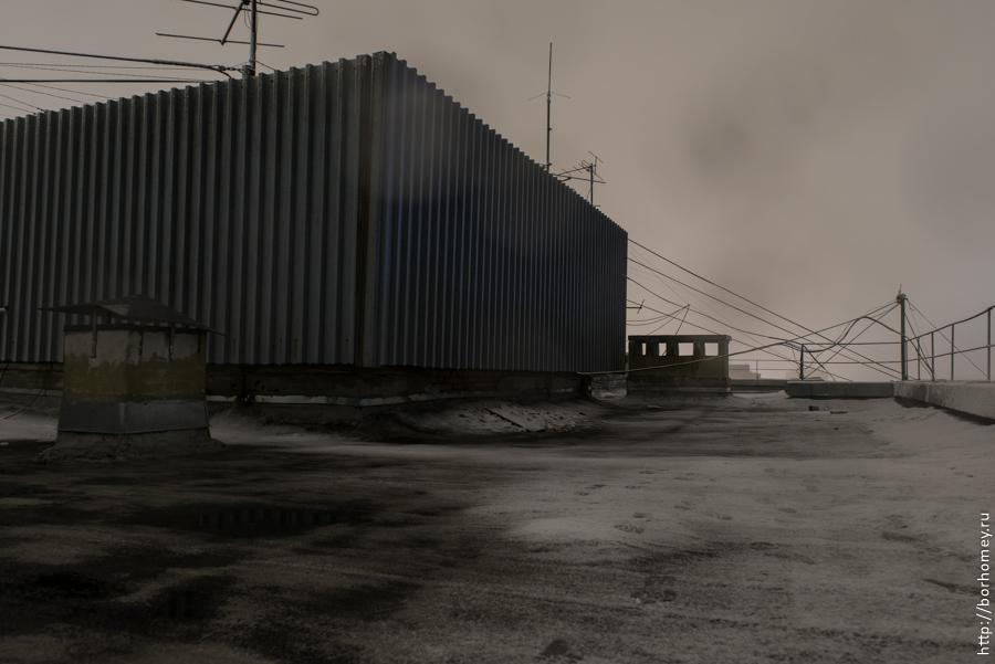 поверхность крыши
