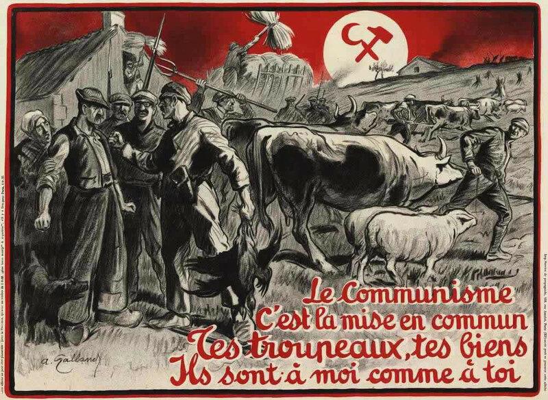 Антисоветские плакаты 20-х - 30-х годов