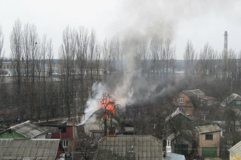 Пожежа в Боярці