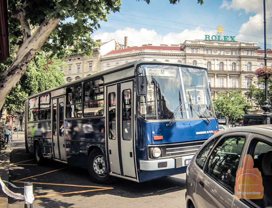 Икарусы ездят по Будапешту до сих пор
