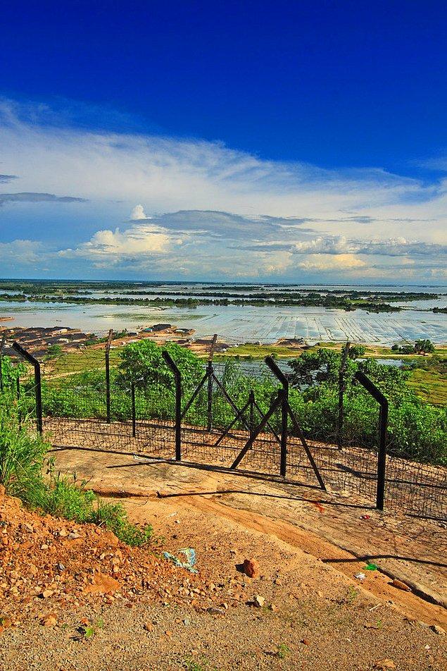 Граница между Индией и Бангладеш, Мегхалая