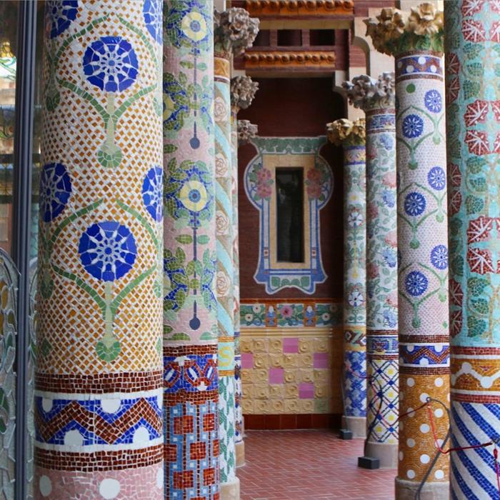 Красивая архитектура Барселоны Instagram фото 4