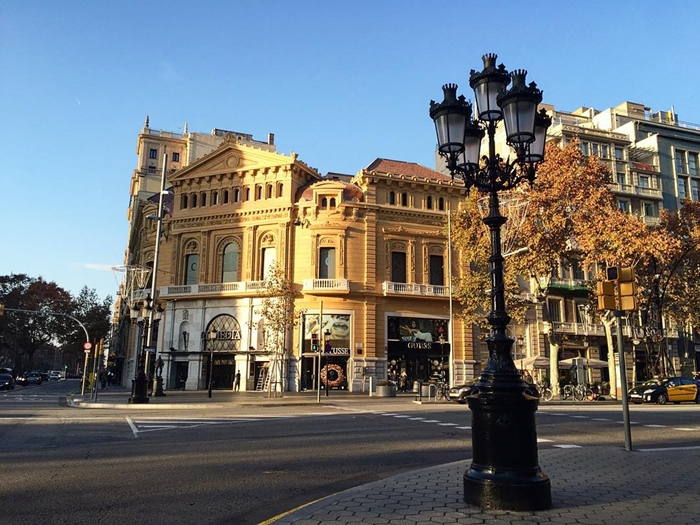 Красивая архитектура Барселоны Instagram фото 8