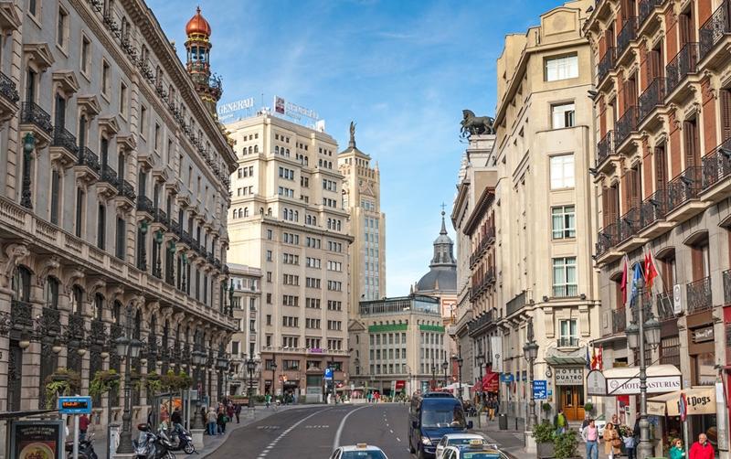 Улицы и архитектура Мадрида фото 9