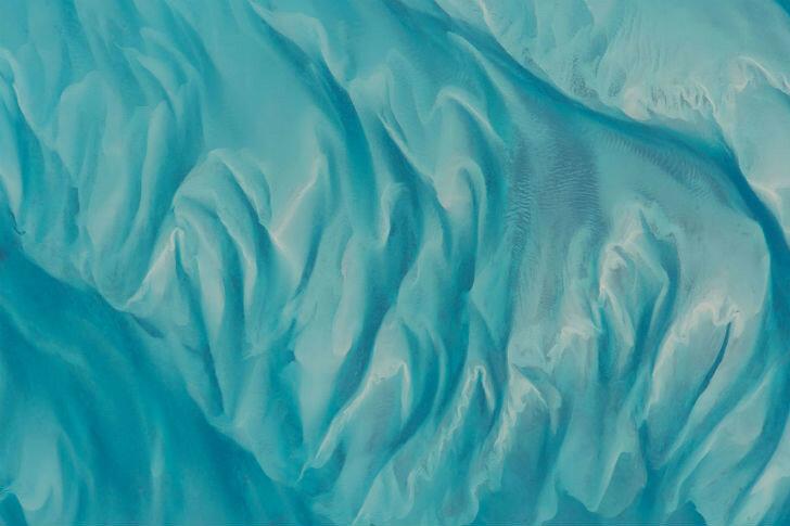 Вода у берегов Багамских островов.