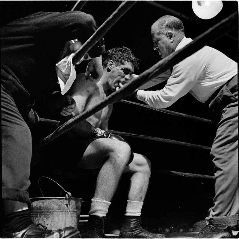 Боксер Уолтер Картье, 1948 год