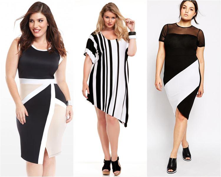 Платья асимметричные для полных 2016