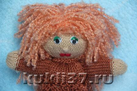 волосы для вязаной куклы