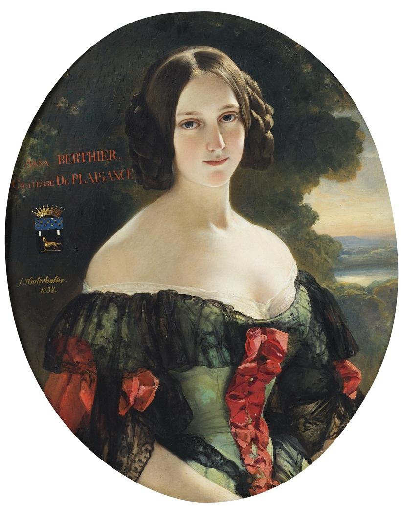 Anne, Comtesse de Plaisance (1815-1878), later Duchesse de Plaisance, née Mlle Bertier de Wagram 1838 Sotheby's