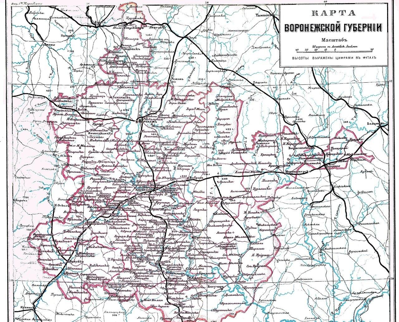 Воронежская губерния