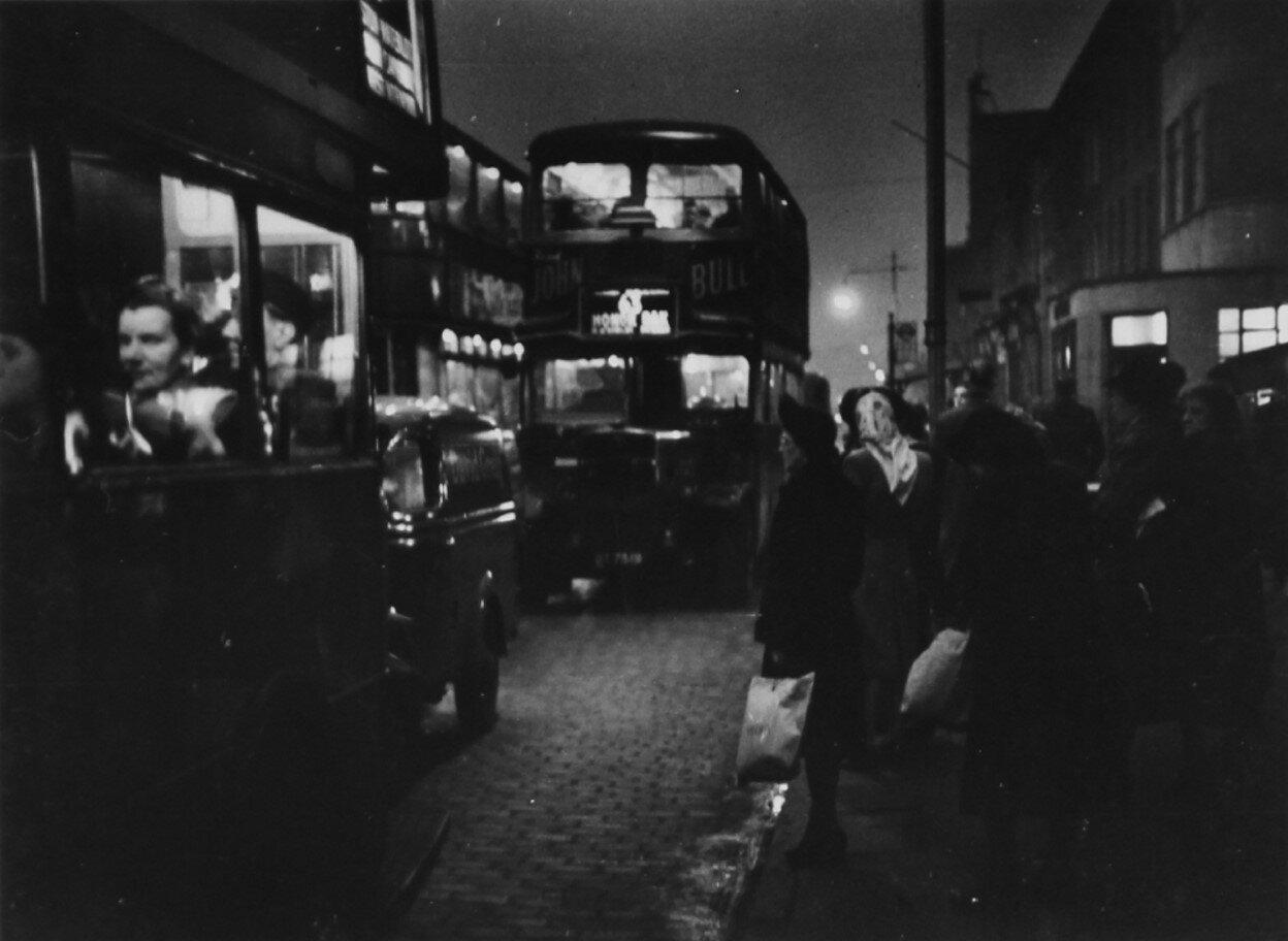 1948. Вечерние автобусы, Лондон