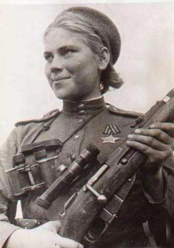 Снайпер Роза Шанина, советские снайперы, советская женщина снайпер