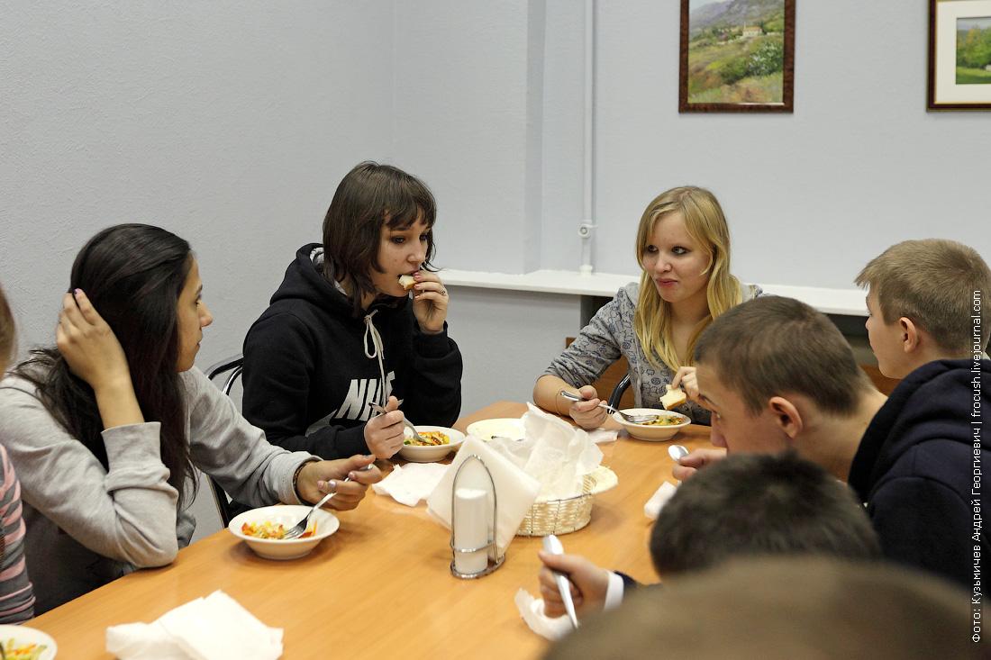 воспитанники Кимрской школы-интерната для детей сирот