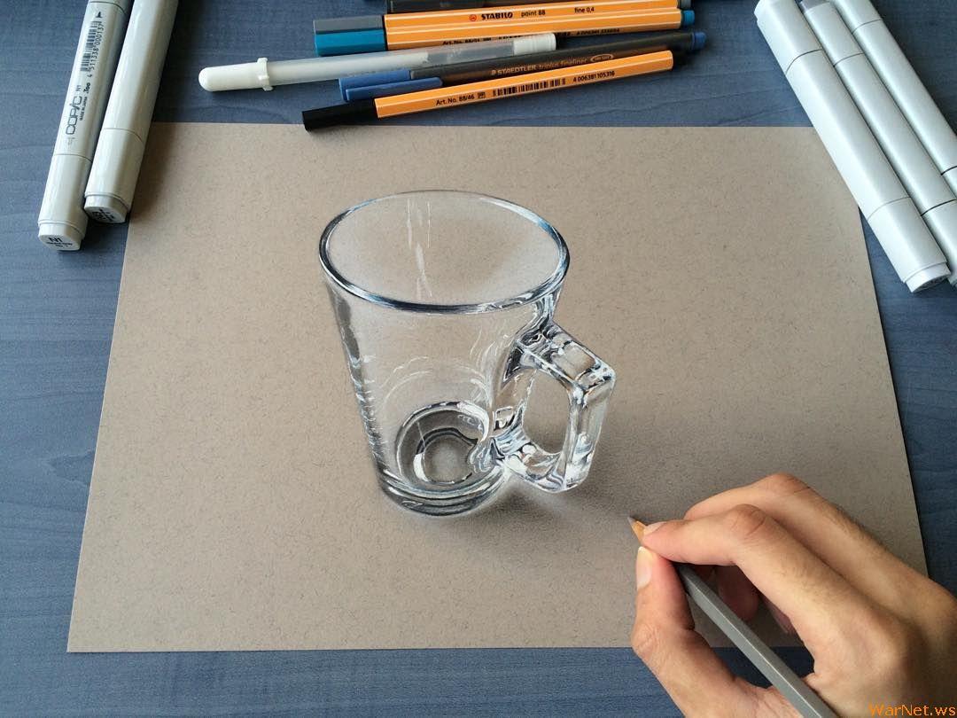 рисовать сложные картинки