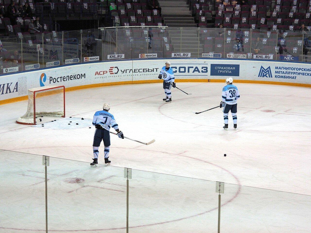 49Плей-офф 2016 Восток 1/2 Металлург - Сибирь 10.03.2016