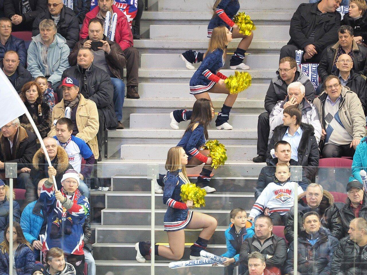 71Плей-офф 2016 Восток 1/2 Металлург - Сибирь 10.03.2016