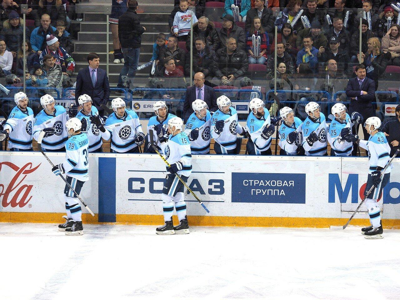 83Плей-офф 2016 Восток 1/2 Металлург - Сибирь 10.03.2016