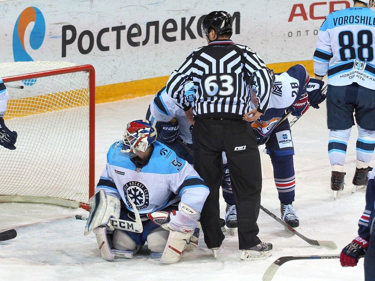 113Плей-офф 2016 Восток 1/2 Металлург - Сибирь 10.03.2016