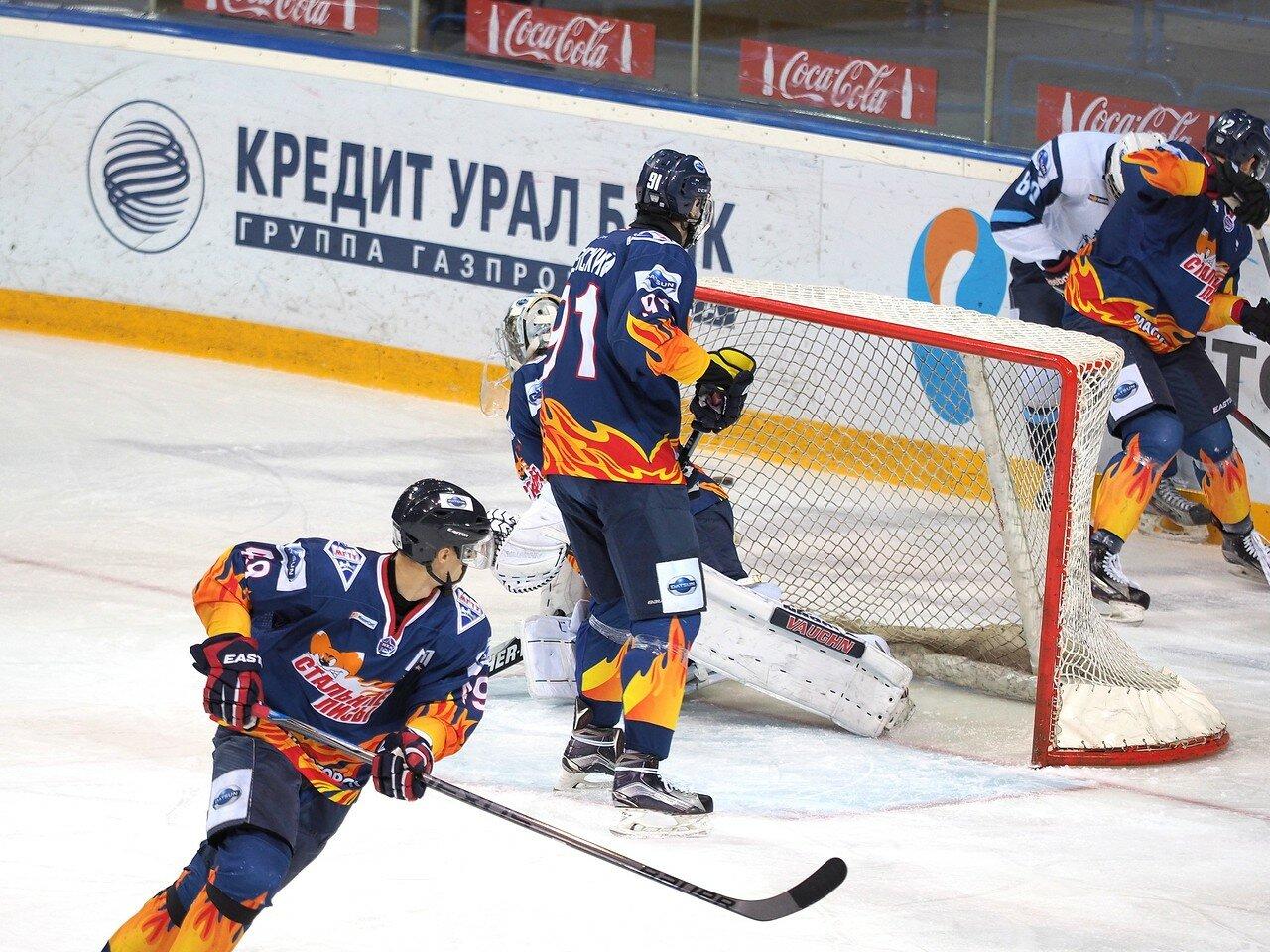 18Плей-офф МХЛ 2016 1/4 Стальные Лисы - Сибирские Снайперы 21.03.2016