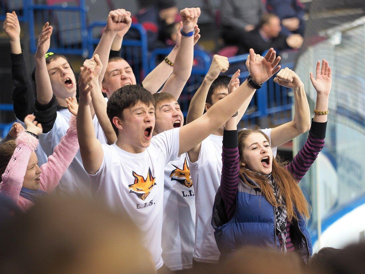 34Плей-офф МХЛ 2016 1/4 Стальные Лисы - Сибирские Снайперы 21.03.2016