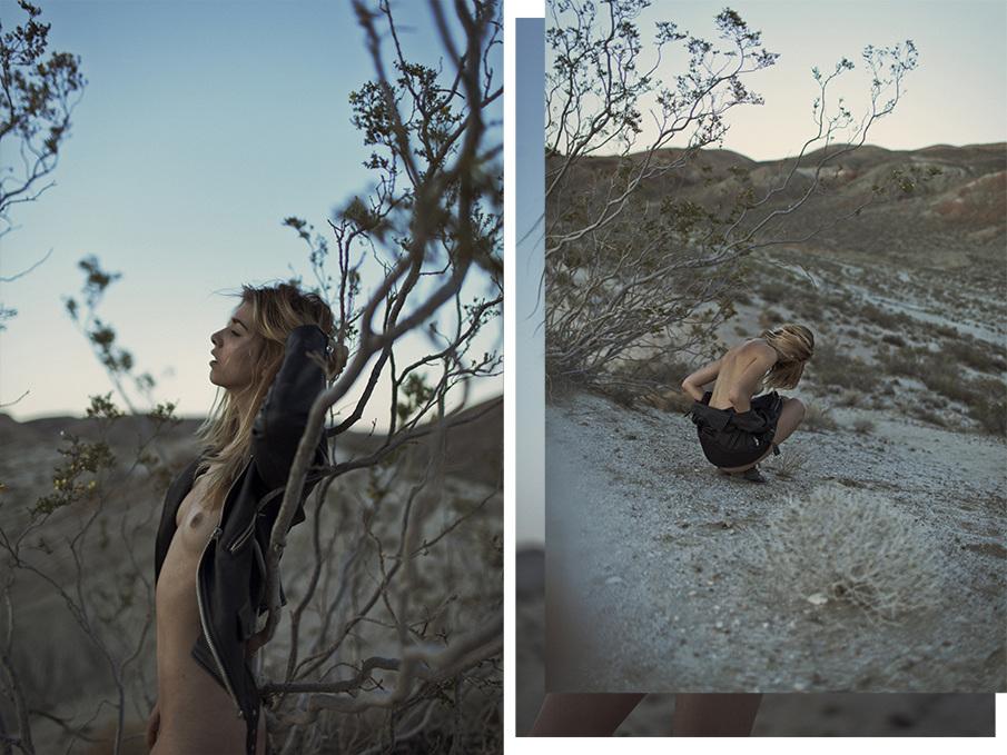 Снимки в жанре «Ню» Дэмиена Элрой Виньо