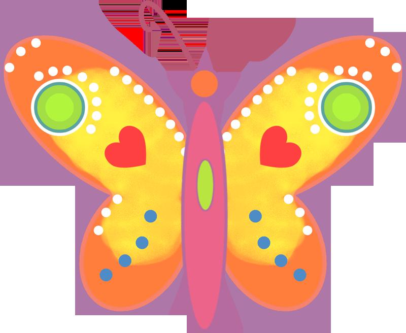 Картинка бабочка на шкафчик в детском саду