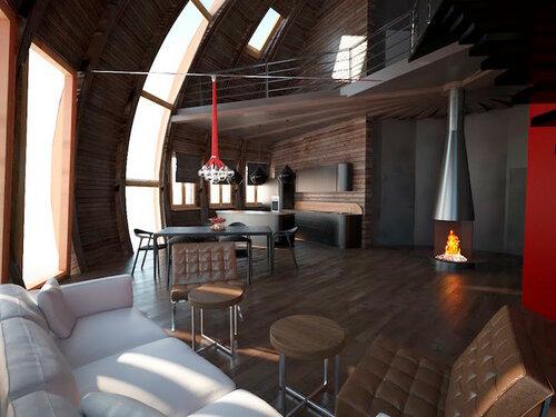 Купольный дом от российской компании