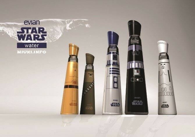 Evian Star Wars