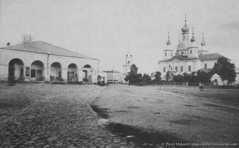В.Волочек - Собор и Гостиный двор.JPG
