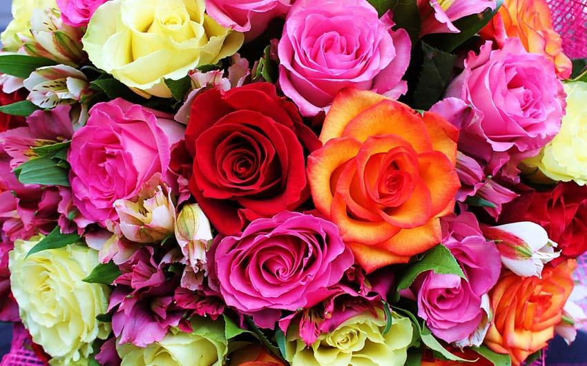 Цветы Букеты Фото Обои функционирующий стол