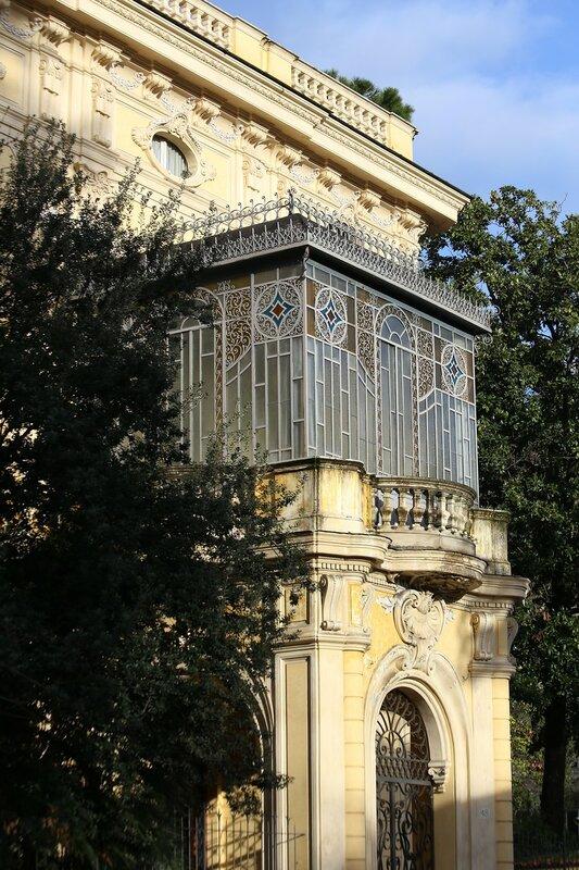 Рим. Улица Саллюстиана (Via Sallustiana)