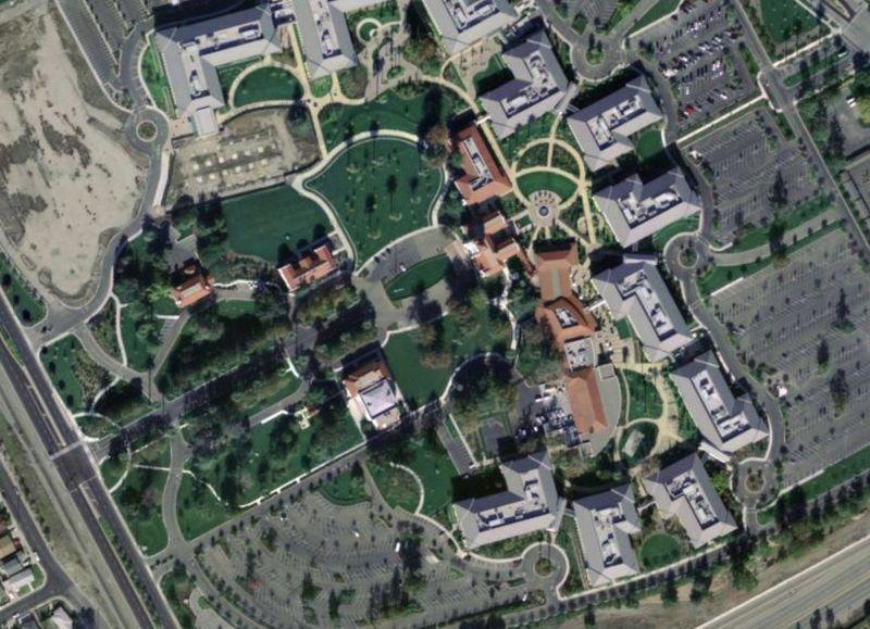 «Старая гвардия» продолжает расти — Intel, Sun, Silicon Graphics открывают огромные кампусы. Офис Su