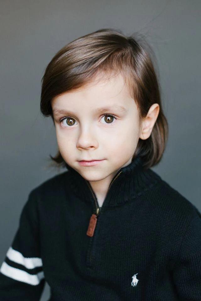 Лукас, 5 лет. Папа — бельгиец, мама — русская.