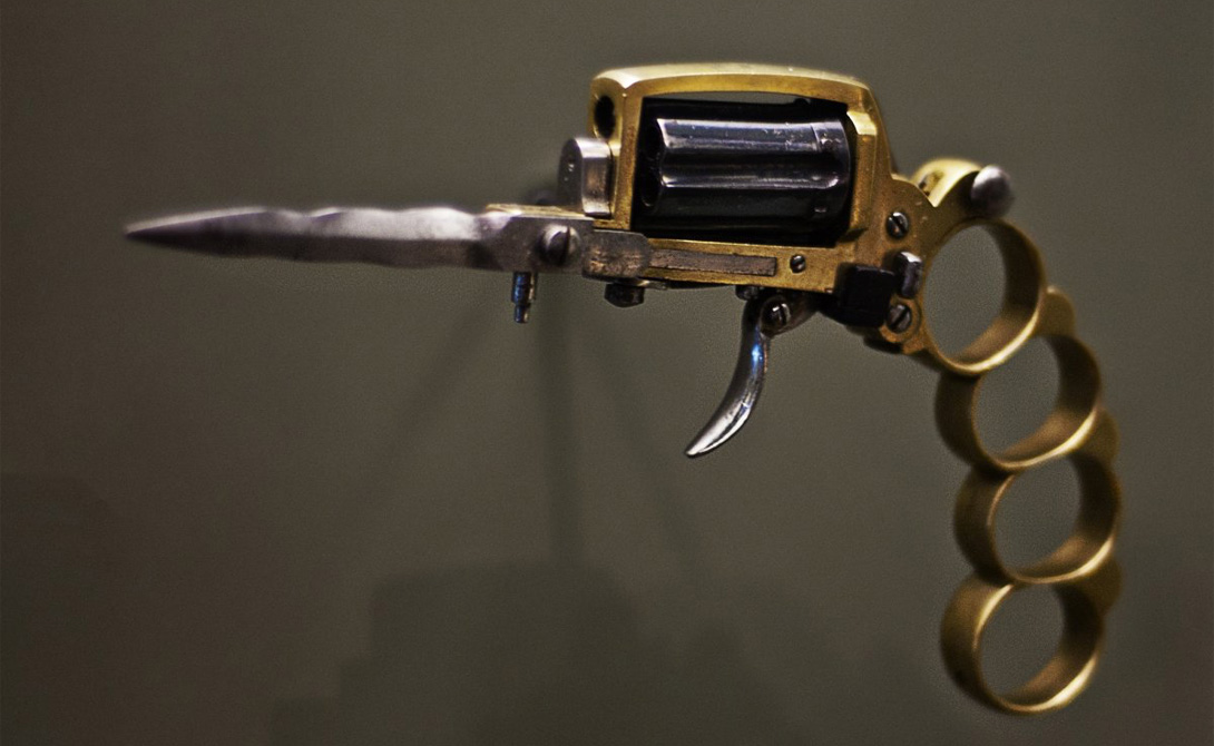 Страна: США Был введен в эксплуатацию: 1880 Тип: револьвер Дальность поражения: ближний бой Конс