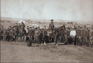 Его Величество Император Александр II со своей гвардией во время осады Плевны, ноябрь 1877