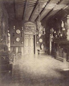 Холл на втором этаже в доме А.А. Половцова на Большой Морской улице