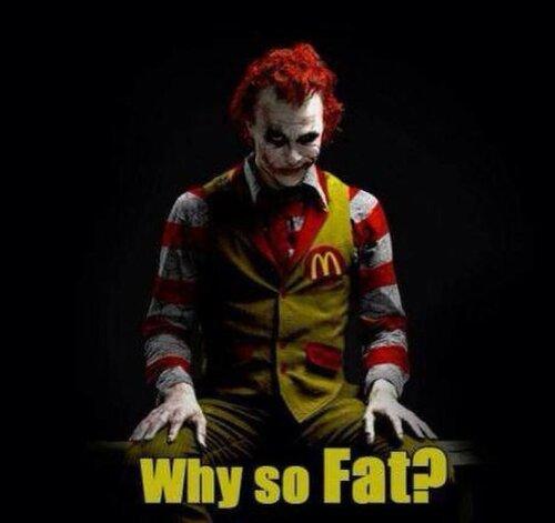 McDonald's - это есть нельзя