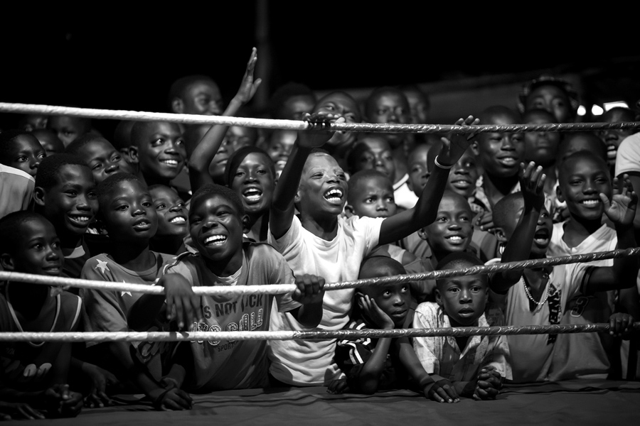 Fight for your dreams - The boxers of Bukom . If one is thinking about countries being successful in