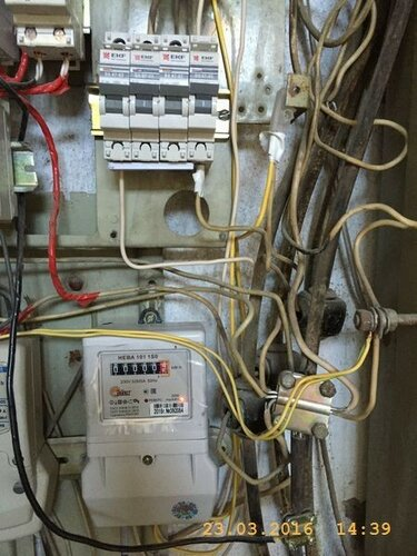 Навели порядок в электрическом щите