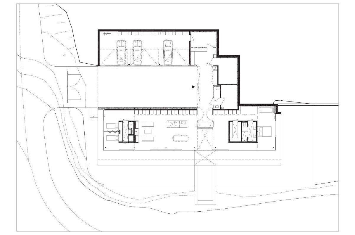Paul de Ruiter Architects, дом из стекла, частные дома в Германии фото, частный дом с бассейном фото, дом с красивым видом из окон