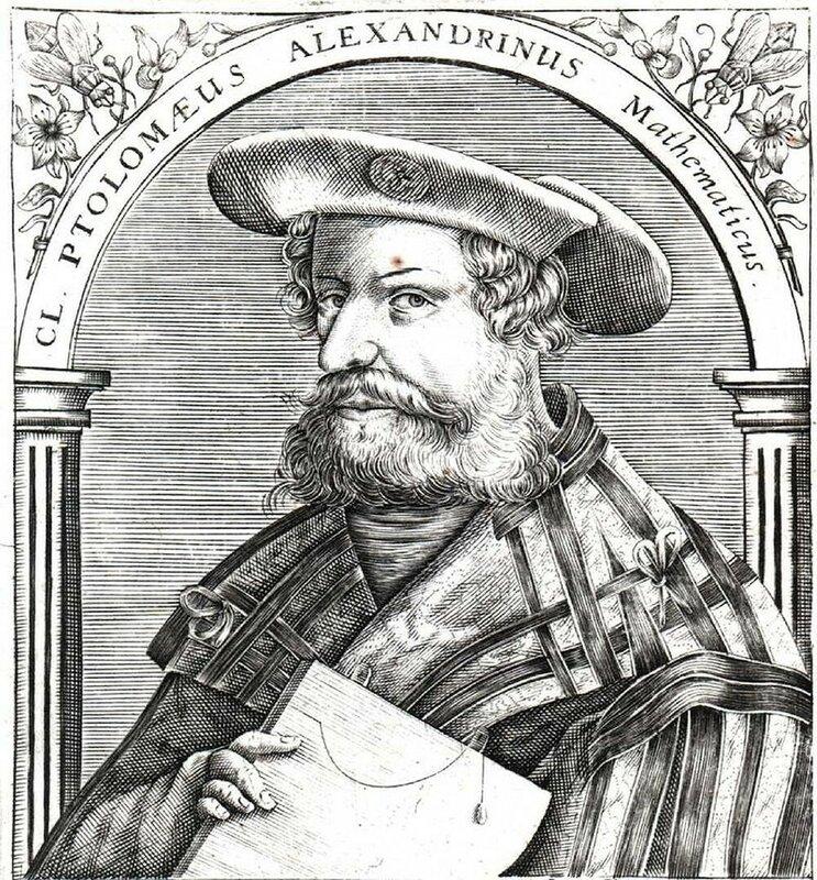 Клавдий Птолемей -Ptolemy_16century.jpg