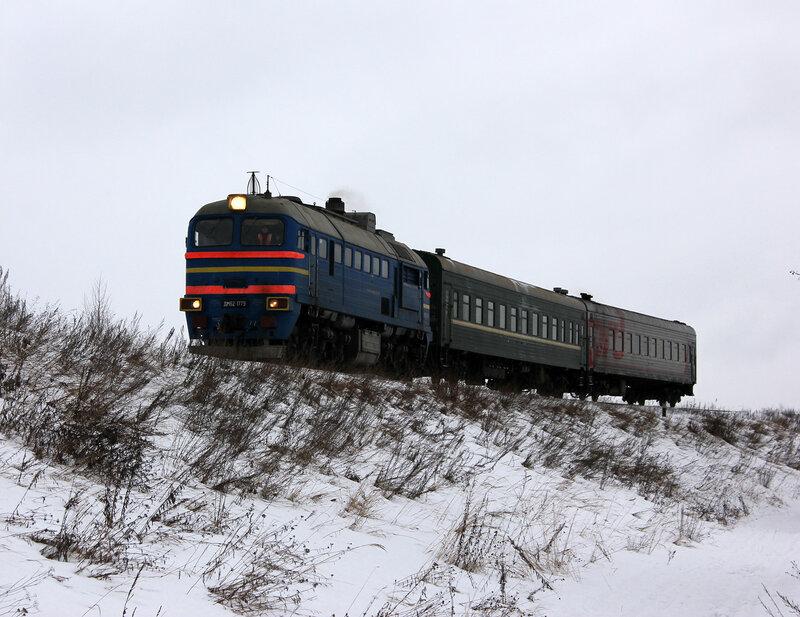 ДМ62-1779 с пригородным Сонково - Савёлово на перегоне Белый городок - Савёлово