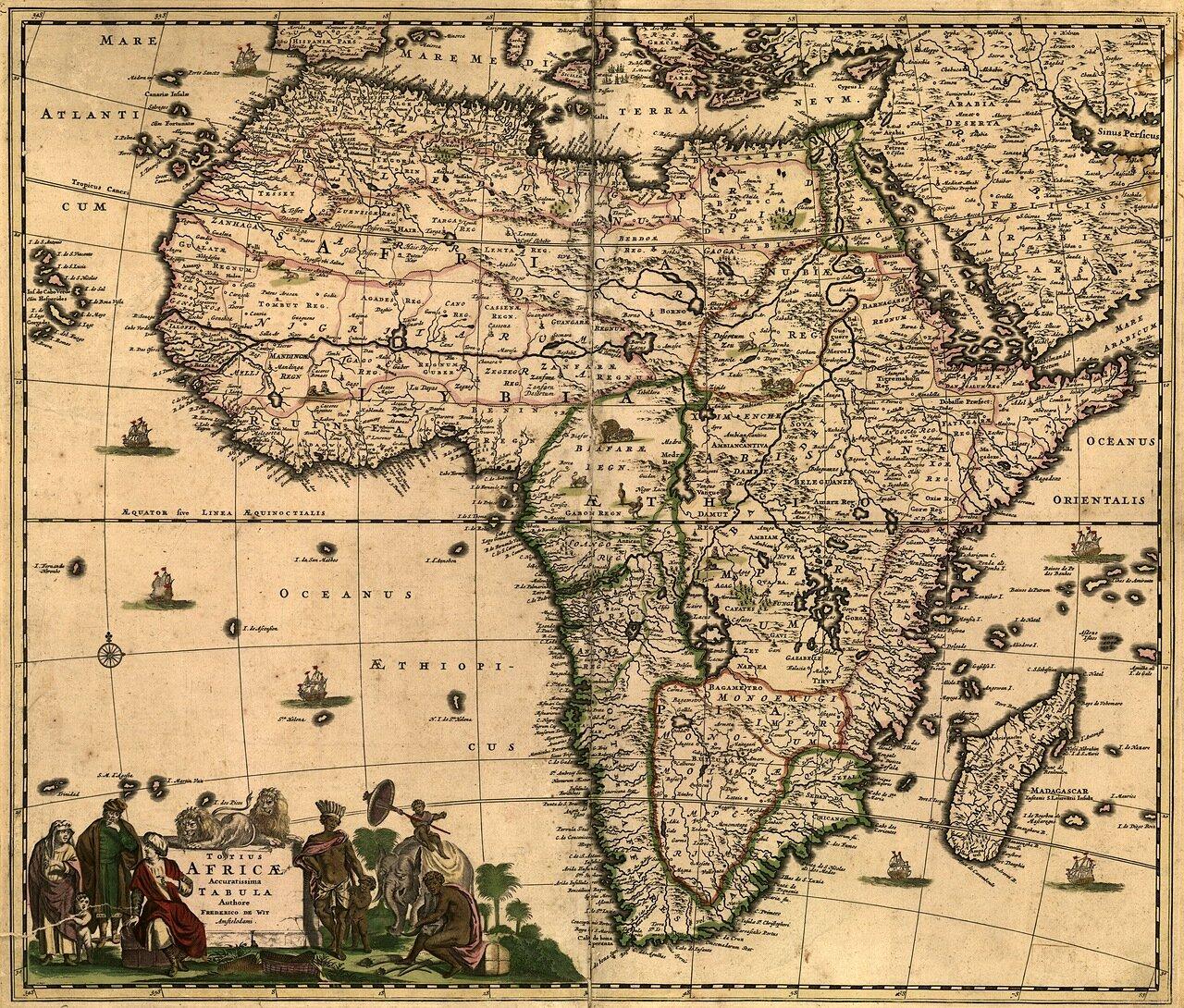 1688. Африка