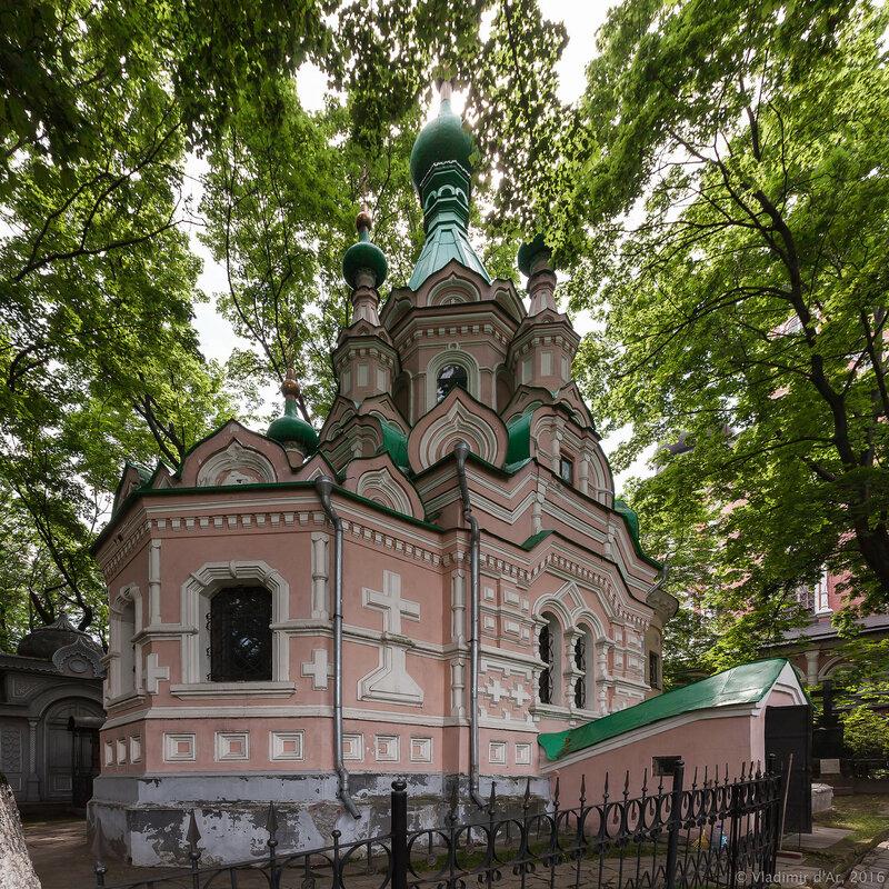 Церковь святого преподобного Иоанна Лествичника. Донской монастырь.