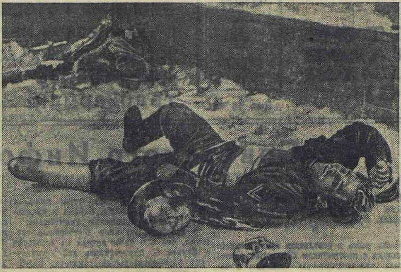 «Известия», 8 января 1942 года, потери немцев на Восточном фронте, убей немца, смерть немецким оккупантам