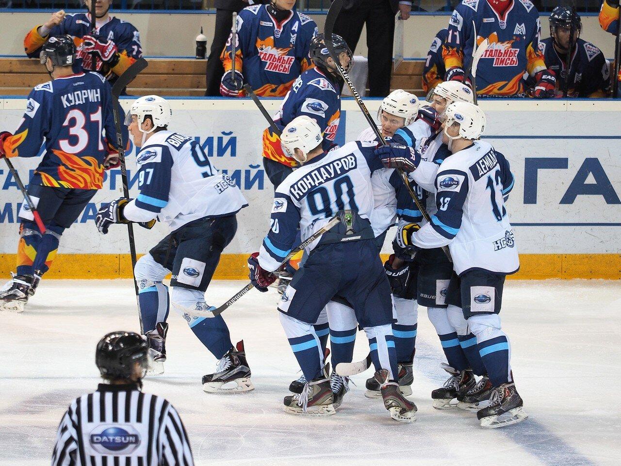 56Плей-офф МХЛ 2016 1/4 Стальные Лисы - Сибирские Снайперы 21.03.2016