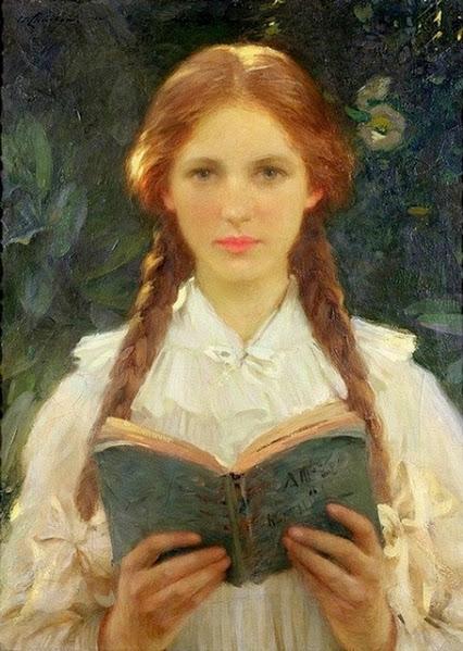 Девочка с косичками (1910)
