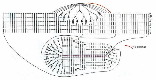 вязание ромашки кофточка