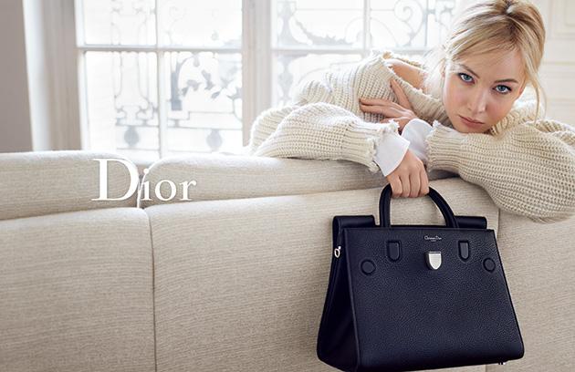Дженнифер Лоуренс снялась в фотосессии для Dior