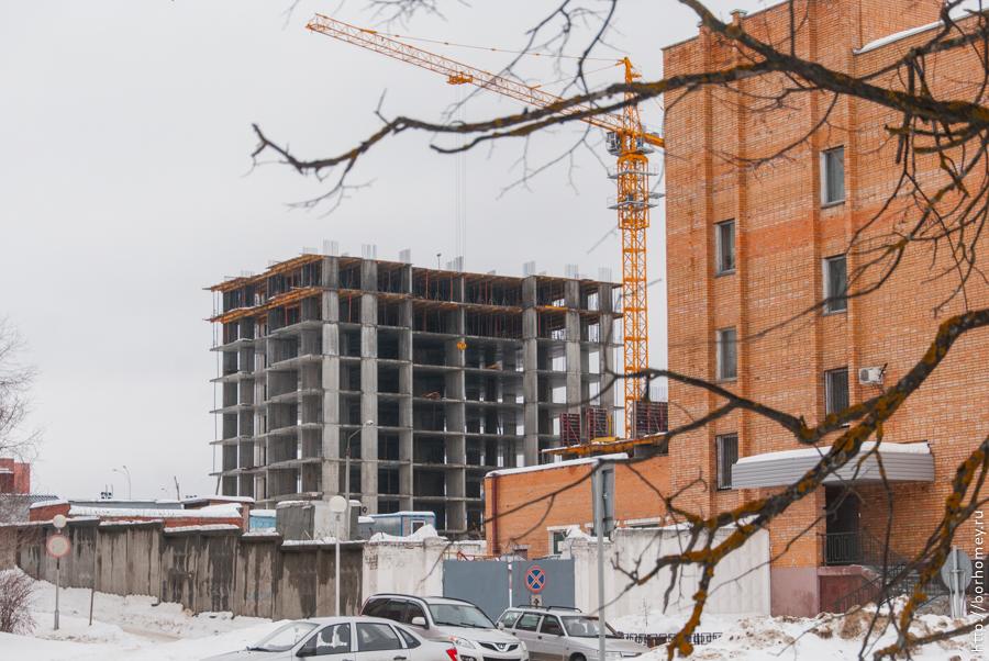строительство жилых домов в сарове